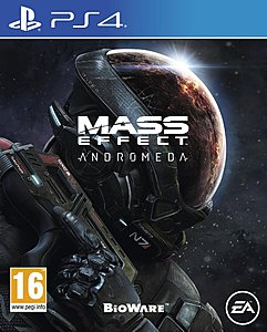 jaquette PlayStation 4 Mass Effect Andromeda