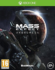 jaquette Xbox One Mass Effect Andromeda