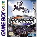 jaquette Gameboy Mat Hoffman s Pro BMX
