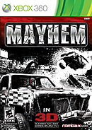 jaquette Xbox 360 Mayhem