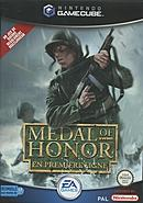 jaquette Gamecube Medal Of Honor En Premiere Ligne