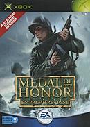 jaquette Xbox Medal Of Honor En Premiere Ligne
