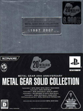 jaquette PlayStation 2 Metal Gear 20th Anniversary Metal Gear Solid Collection