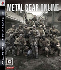jaquette PlayStation 3 Metal Gear Online