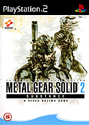 jaquette PlayStation 2 Metal Gear Solid 2 Substance