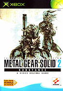 jaquette Xbox Metal Gear Solid 2 Substance