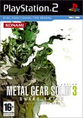 jaquette PlayStation 2 Metal Gear Solid 3 Snake Eater