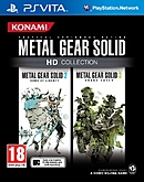 jaquette PS Vita Metal Gear Solid HD Collection