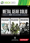 jaquette Xbox 360 Metal Gear Solid HD Collection
