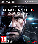 jaquette PlayStation 3 Metal Gear Solid V Ground Zeroes