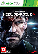 jaquette Xbox 360 Metal Gear Solid V Ground Zeroes