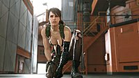 Metal Gear Solid V The Phantom Pain Quiet wallpaper 4