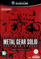 jaquette Gamecube Metal Gear Solid
