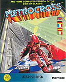 jaquette Atari ST Metro Cross