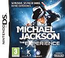 jaquette Nintendo DS Michael Jackson The Experience