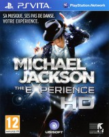 jaquette PS Vita Michael Jackson The Experience
