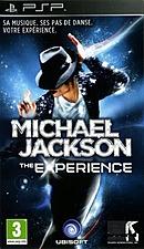 jaquette PSP Michael Jackson The Experience