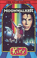 jaquette Commodore 64 Michael Jackson s Moonwalker