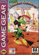 jaquette Game Gear Mickey s Ultimate Challenge