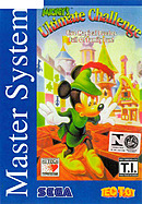 jaquette Master System Mickey s Ultimate Challenge