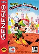 jaquette Megadrive Mickey s Ultimate Challenge