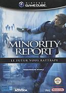 jaquette Gamecube Minority Report