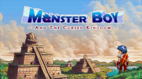 jaquette Xbox One Monster Boy And The Cursed Kingdom