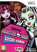 jaquette Wii Monster High Lycee D Enfer