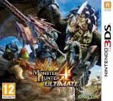 jaquette Nintendo 3DS Monster Hunter 4 Ultimate