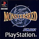 jaquette PlayStation 1 Monster Seed