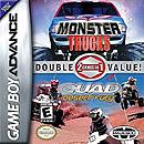jaquette GBA Monster Trucks Quad Desert Fury