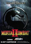 jaquette Megadrive Mortal Kombat II