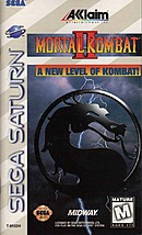 jaquette Saturn Mortal Kombat II
