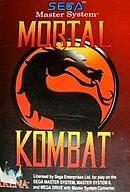 jaquette Master System Mortal Kombat