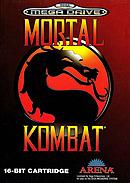 jaquette Megadrive Mortal Kombat