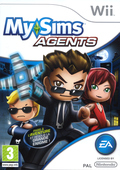 jaquette Wii MySims Agents