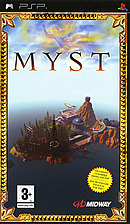 jaquette PSP Myst