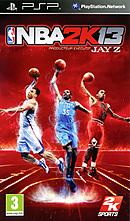 jaquette PSP NBA 2K13