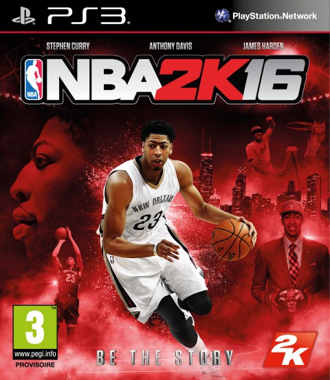 jaquette PlayStation 3 NBA 2K16