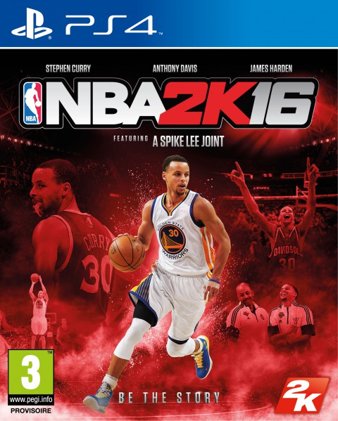 jaquette PlayStation 4 NBA 2K16