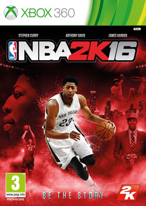 jaquette Xbox 360 NBA 2K16