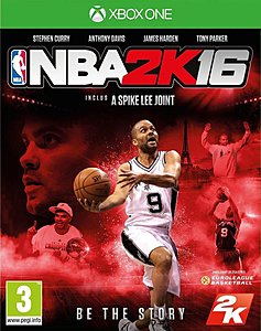 jaquette Xbox One NBA 2K16