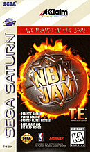 jaquette Saturn NBA Jam Tournament Edition