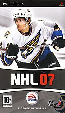 jaquette PSP NHL 07