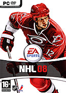 jaquette PC NHL 08