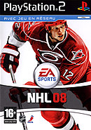 jaquette PlayStation 2 NHL 08