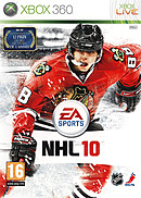 jaquette Xbox 360 NHL 10