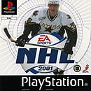 jaquette PlayStation 1 NHL 2001