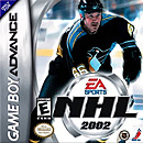jaquette GBA NHL 2002