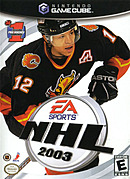 jaquette Gamecube NHL 2003